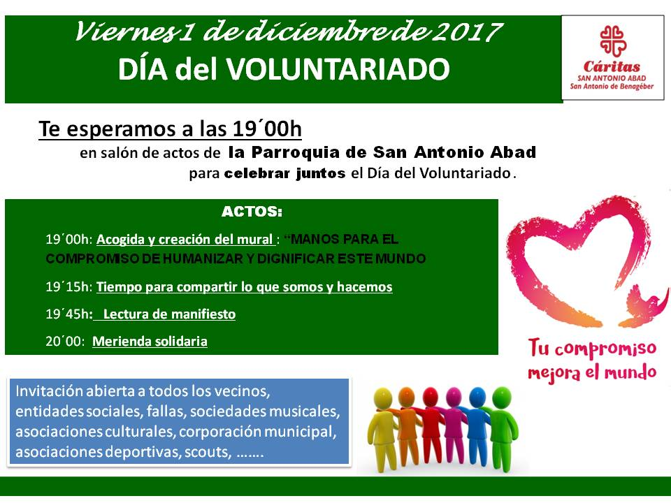 cartel dia voluntariado